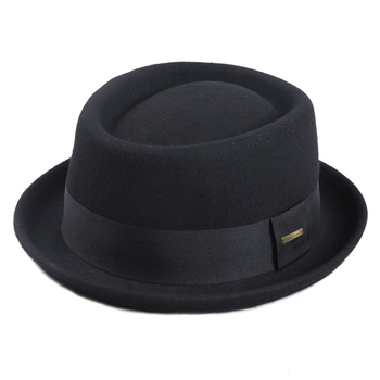 Sedancasesa - 100% Australia Wool Men's Fedora Pork Pie Hat