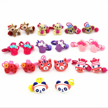 New Version 2015 Korean Fashion Cartoon Animals Hair Band Rings For Girls Headwear Women Wholesale