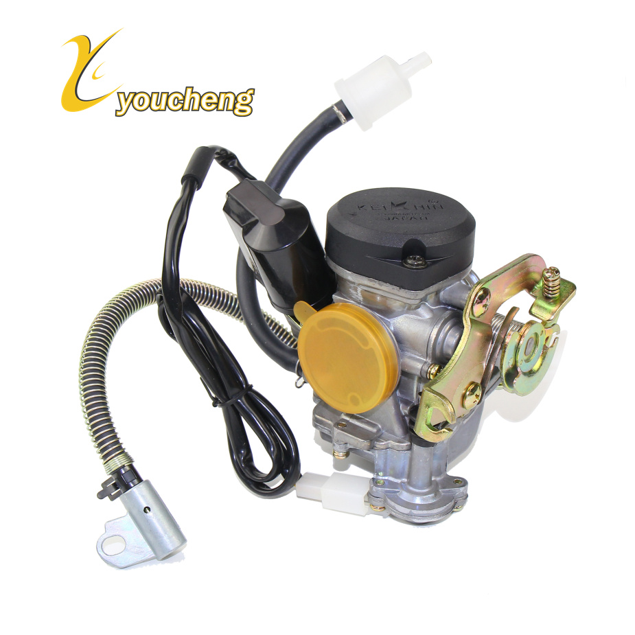 Keihin 139QMB 139QMA ATV QUADS 18mm <font><b>GY6</b></font> <font><b>50cc</b></font> SCOOTER MOPED PD18J CVK <font><b>CARBURETOR</b></font> CARB GO-KART BUGGY (PD18J) HYQ-GY650 image