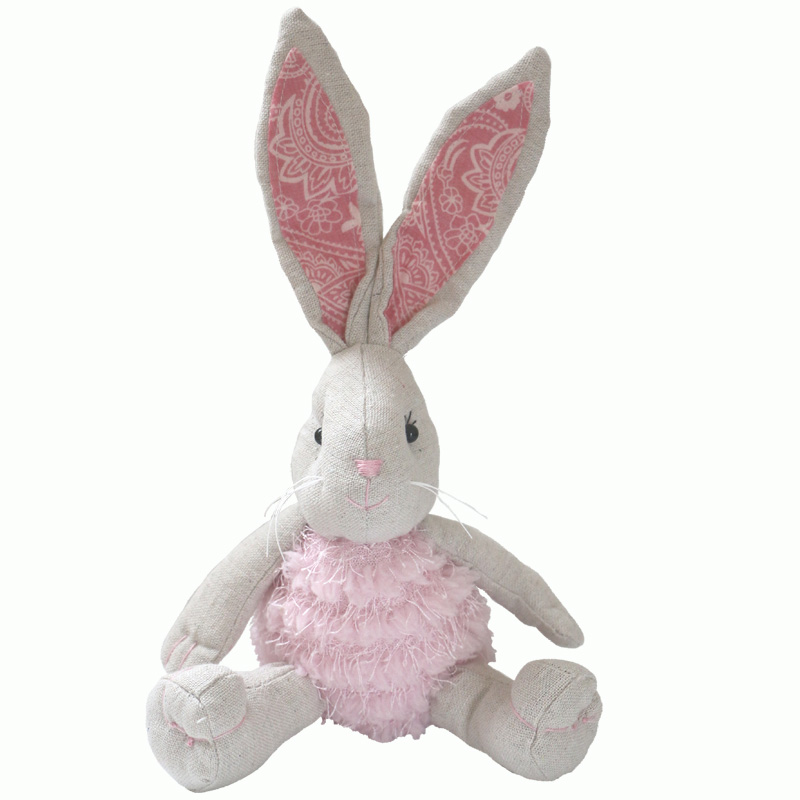 25 cm Cute rabbit plush doll pink rabbit doll baby gift bunny doll cute toy christmas gift birthday lovely birthday toy 75cm led luminous glowing toy light up plush rabbit doll christmas new year birthday gift for kid girlfriend child wj447