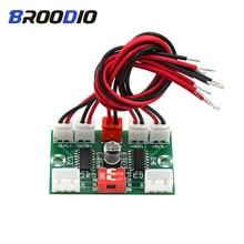 цена на PAM8403  Digital Amplifier Board Four Channels Mini Amplifiers USB 5V Power Supply Amplificador DIY 4*3W For Dual Audio Input