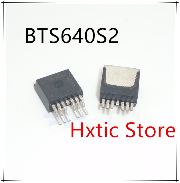 NEW 10PCS LOT BTS640S2 BTS640 TO263 7