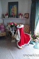 Rot Mit Kapuze 2016 Mädchen Cape Hochzeit Mäntel Faux Pelz Jacke Für Winter Kind Blumenmädchen Shrug Oberbekleidung Mäntel für haloween
