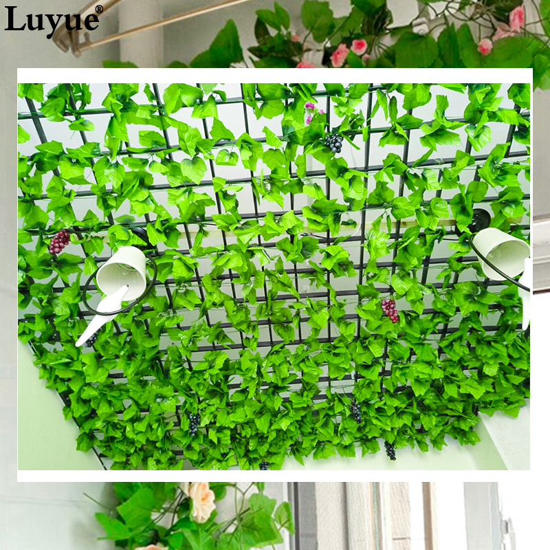 Artificial Plants Green Foliage Leaves Home Wedding Decoration 1
