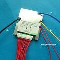 Зарядное напряжение BMS 48В E-bike литиевый аккумулятор BMS 13S 48В 20A 54,6 в с функцией балансировки и переключателем включения/выключения BMS/PCM