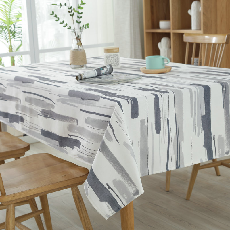 Attrayant Modern Simple Graffiti Color Tablecloth Polyester Cotton Table Cloth  Kitchen Towel Casual Party Water Proof Tablecloths In Tablecloths From Home  U0026 Garden On ...