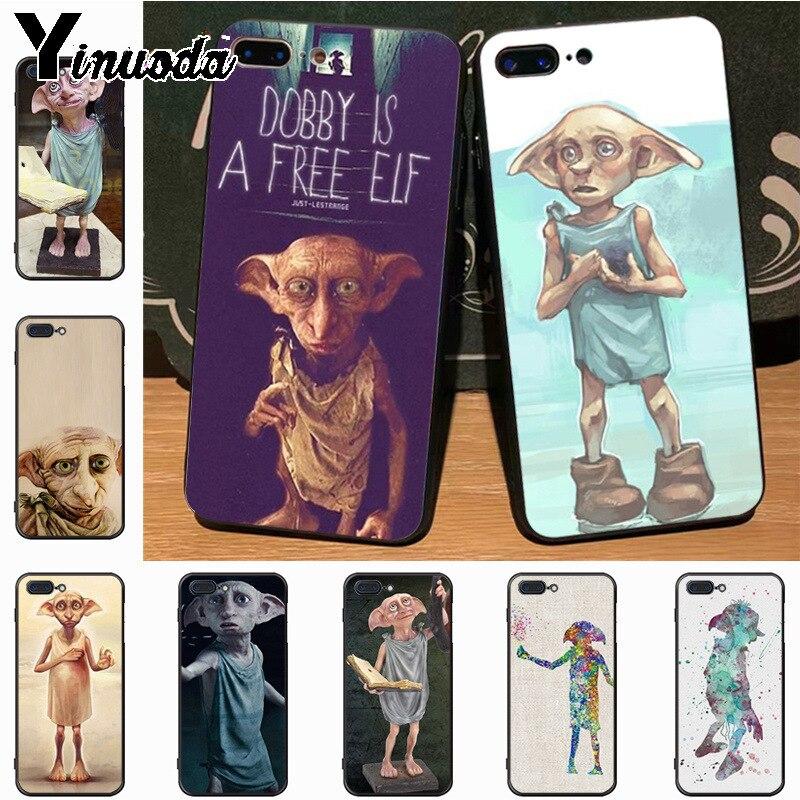 Yinuoda harry potter movie Dobby classic geometric print Phone Accessories Case for iPhone 7plus 6S 6plus 7 8 8Plus X 5 5S case