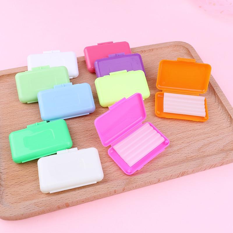 10pcs/set Dental Orthodontics Ortho Wax Mint Mix Scent For Braces Bracket Gum IrritationTeeth Whitening Oral Hygiene Tool