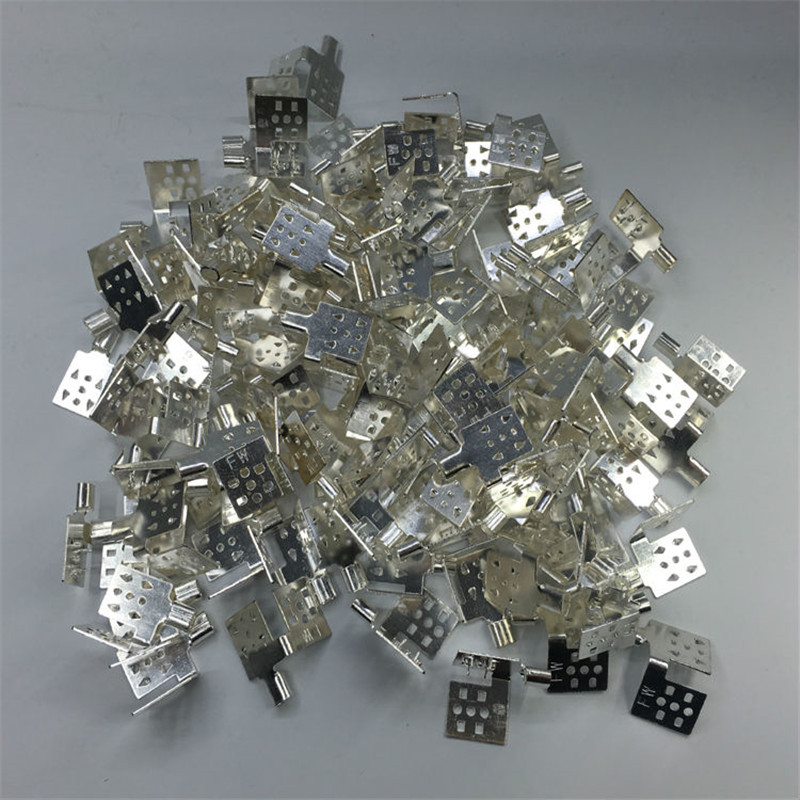 Silver plated Cooper Clips X 10 pieces/lot used for far infrared heating film, Clamps for connect cable and heating film