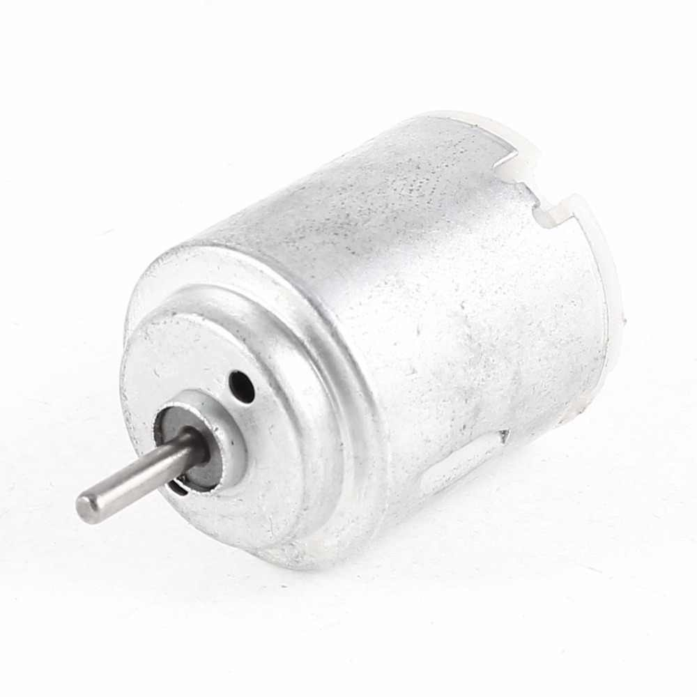 Uxcell (R) venta caliente 1 piezas eléctrica Mini Motor DC 1,5-6 V 7500 RPM 25x20mm para RC modelo DIY juguetes Juguetes