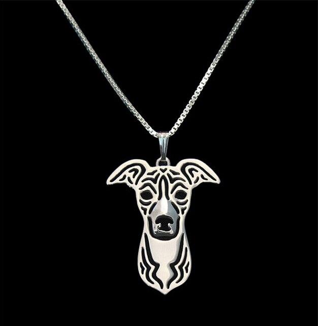 cfb635d1bb7 Únicas Feitas À Mão Boho Chic Italian Greyhound Colar Feminino e Masculino  Presente Da Jóia Colar -- 12 pçs lote (6 Cores Livre escolha)