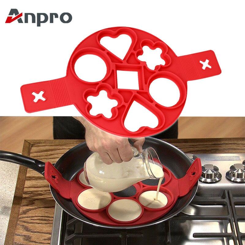 Pancake Maker antiadherente herramienta de cocina huevo anillo de panqueques