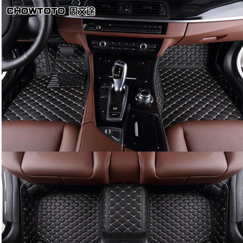 CHOWTOTO AA speciālie grīdas segumi BMW 740Li F02 neslīdošiem - Auto salona piederumi