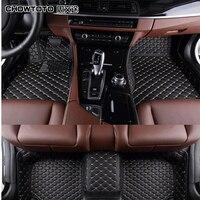 CHOWTOTO AA Custom Special Floor Mats For BMW 740Li F02 Non slip Waterproof Carpets For BMW 740Li