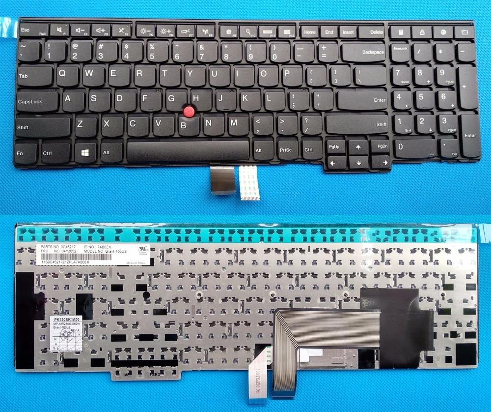 Nouveau/Orig pour Lenovo ThinkPad E531 W540 T540P E540 W550 W541 T550 NOUS clavier 04Y2652 0C45217 04Y2689 0C 44991