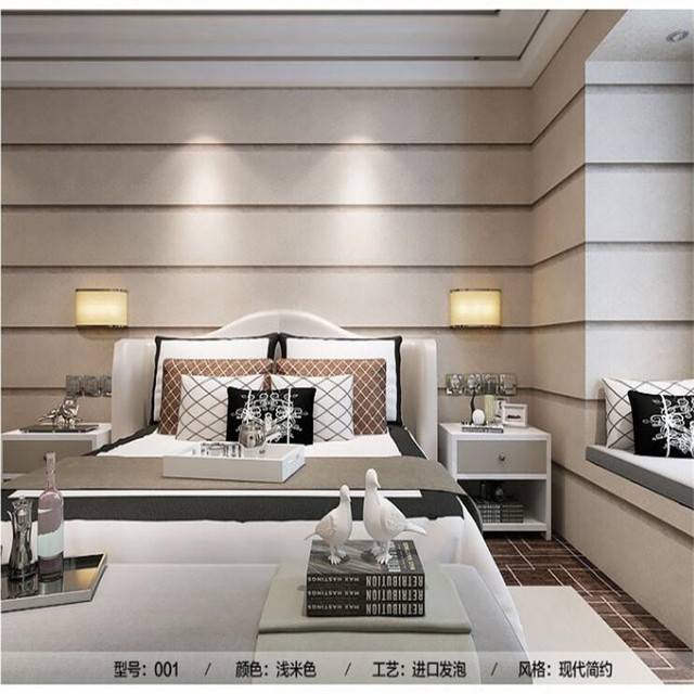 Moderne Wallpaper Breite Gestreiften Grobe Marmor Muster Streifen Schlafzimmer  Wohnzimmer Sofa Film TV Tapete Hintergrund Wandpapierrolle
