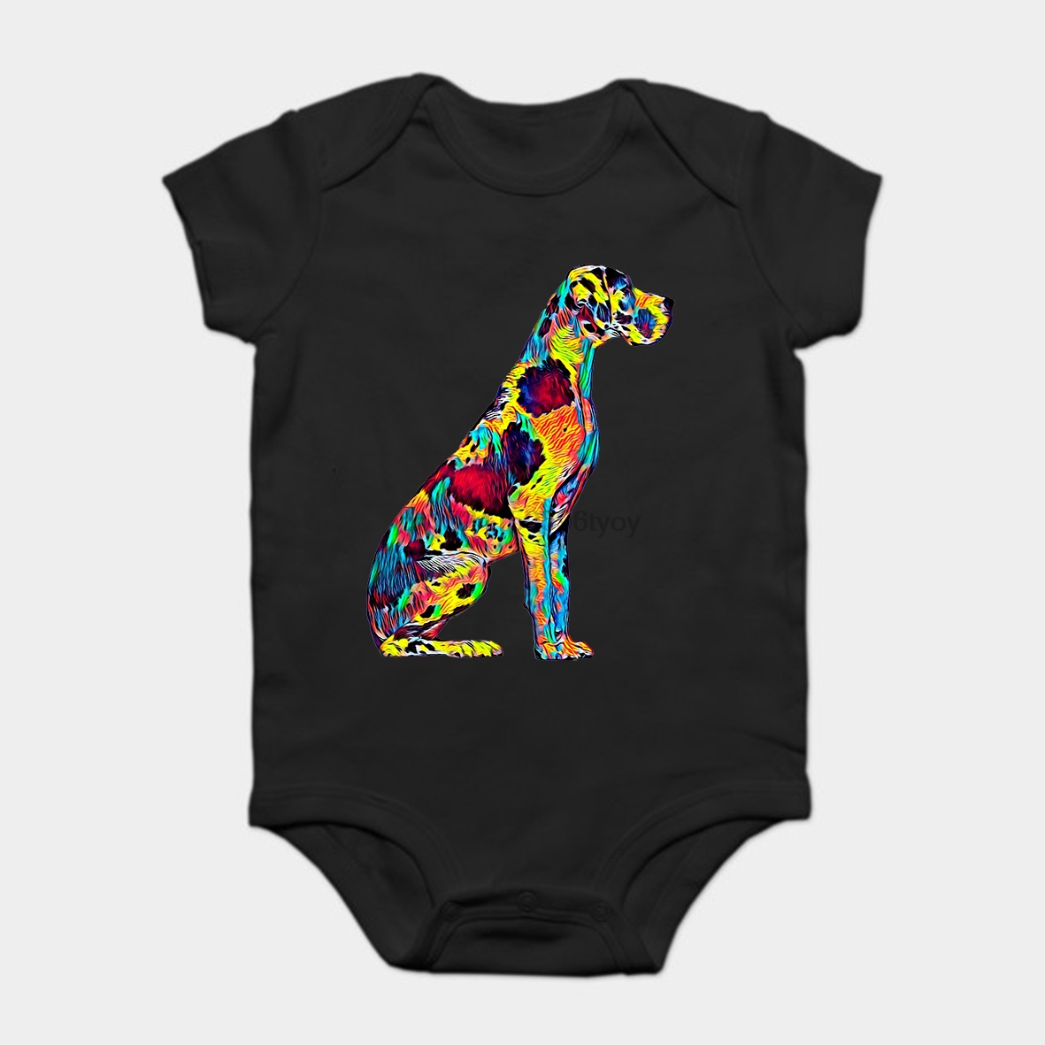 933151c5d Baby Onesie Baby Bodysuits kid t shirt Funny novelty Great Dane Big Dog Pet Full  Body Chillin True Friend