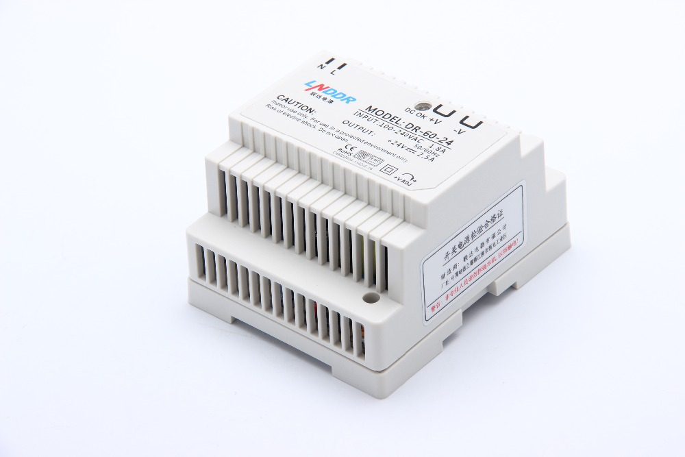 Din rail power supply 60w 12V power suply 12v 60w ac dc converter dr-60-12