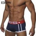Venta caliente de los hombres de algodón boxer underwear hombres, sexy cueca boxers underwear slip hombre boy underpant