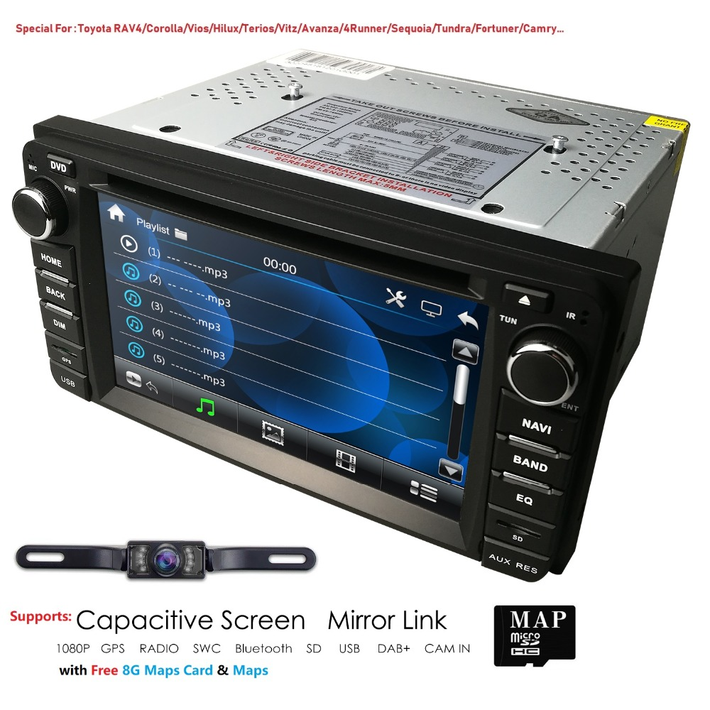 Genuine TOYOTA Camry Corolla PRADO Hiace Hilux 6 CD MP3 PLAYER BLUETOOTH AUDIO