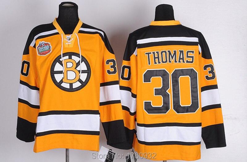 ebbb5b555 New Popular Boston Bruins Jersey 30 Tim Thomas Jersey 2015 Orange Black  White