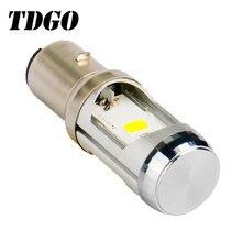 TDGO H6 Levou Motocicleta Farol de Luz de Alumínio Branco 2018 Nova Chegada Baixo Bulb Lamp 12 12 v LEVOU Farol Do Motor v 6000 k 1600Lm