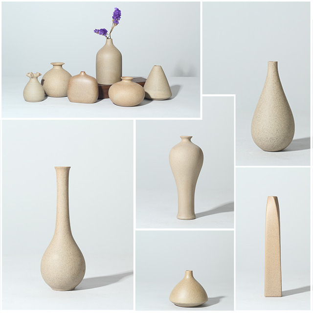 Yellow Flower Vases For Homes Jingdezhen Ceramic Nordic Home Decoration Accessories A