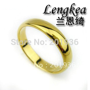 Free shipping,Men Tungsten bars and rods pinky ring,gold color,gloss tungsten steel,fastness,Quality goods,gift