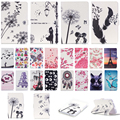 Cute butterfly Owl Eiffel Tower PU Leather Stand Case Cover For Samsung Galaxy Tab 3 Lite 7.0 T110 T111 T113 T116 SM-T110 7 inch