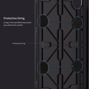 Image 5 - עבור iphone x יוקרה מקרה Nillkin צ י טעינה אלחוטי מקלט חזרה כיסוי fit עבור מגנטי מחזיק 5.8 inch עבור iphone x מקרה