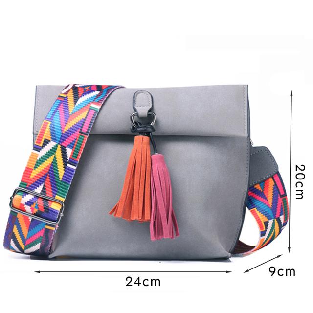 Colorful Cross-body Bag
