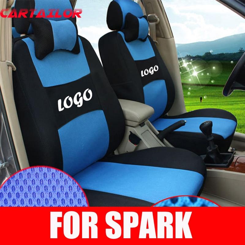 ᗛCartailor interior accesorios para Chevrolet Spark cubierta de ...