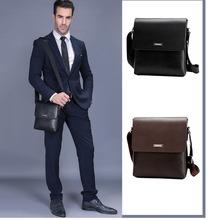 Vintage Crossbody IPad Laptop Briefcase Men Leather Bag 2019 New Fashion Design Men Shoulder Bags Casual Business Messenger Bag