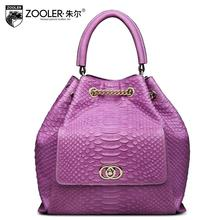 ZOOLER2016 new high-quality luxury fashion brand leather handbag shoulder bag counter genuine, well-known brands of women