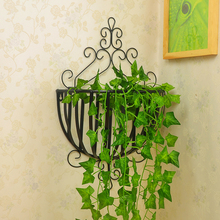 European iron balcony wall hanging frame assembly flowerpot rack wall mural creative flower stand