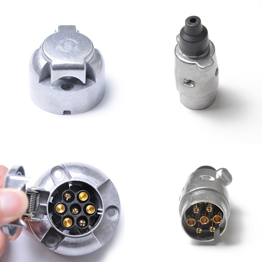 7 Pin 12s Eléctrica Remolque Socket