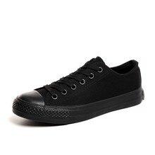 men Canvas Shoes Classic Fashion Brand Casual man shoes breathable Flat Canvas unisex Shoes big size 35-45