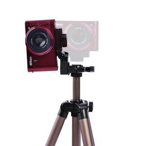 Image 5 - Fusitu WT3130 Aluminum Alloy Tripods Mini Camera Tripod Stand With Smartphone Holder 1/4 Screw For DSLR Camera Mobile Phone