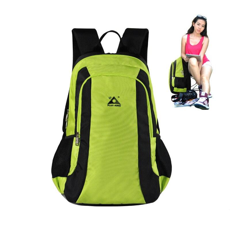 Nouvelle couleur unie sac casual 47L grande capacité en plein air alpinisme randonnée siège pliant sac à dos sac à dos de voyage de mode