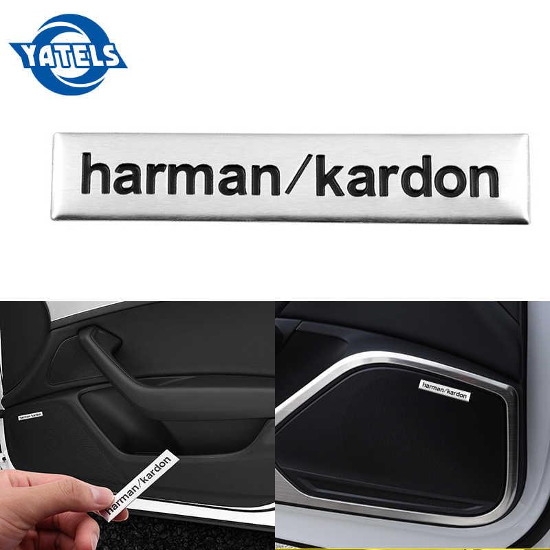 1 unidad excelente insignia de coche audio decoración pegatina ajuste para Toyota/skoda/Opel/AUdi/Suzuki/ fiat/BMW/mazda/fiat accesorios de diseño de coche