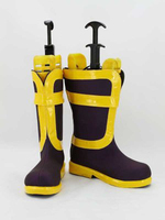 Fairy Tail Cosplay Natsu Dragneel Cosplay Çizmeler Ayakkabı Anime Parti Cosplay Boots Custom Made Erkekler Ayakkabı