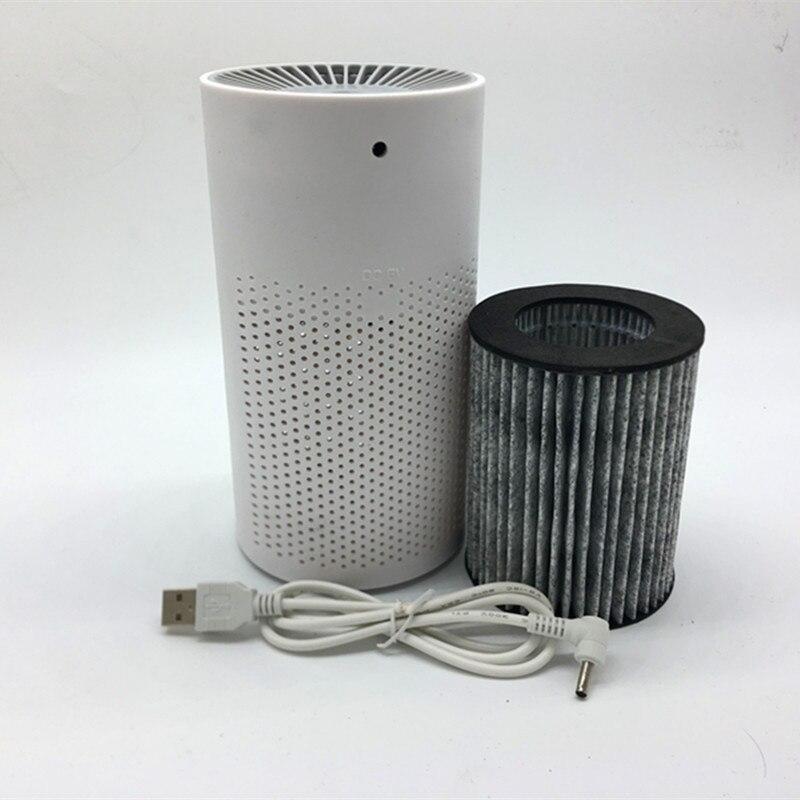 Очиститель воздуха стерилизатор в дополнение к формальдегиду очистители PM 2,5 очистки воздуха USB бытовой автомобиль ионизатор воздуха