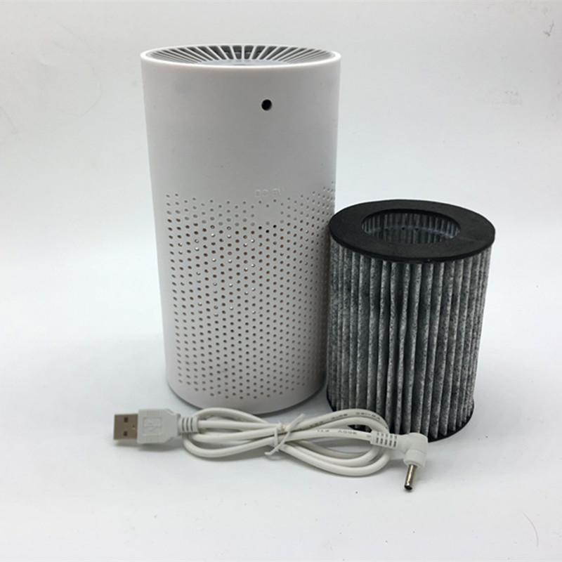 YJ HUMIDIFIER Air Purifier sterilizer In addition to Formaldehyde Purifiers PM 2.5 air cleaning USB Household Air Ionize