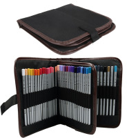 Cosmetic Pencil Pen Brush Case Makeup Tool Kits Holder Bag Storage Pouch Canvas High Quality