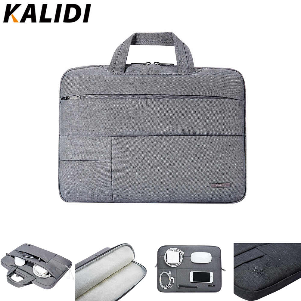 4eb5dd224eed KALIDI Laptop Bag Sleeve 13.3 14 15 15.6 Inch Notebook Bag For Macbook Air  Pro 11 13 15 Dell Asus HP Acer Laptop Case Waterproof