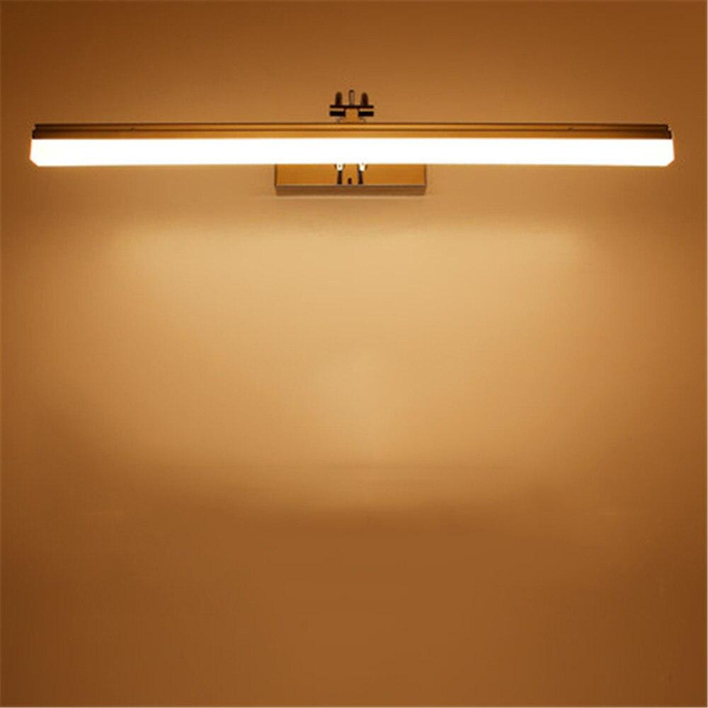 9W 12W 39cm 49cm LED Mirror Light AC85-265V Waterproof 2835 High Quality Wall Lamp for Bathroom LED Lighting Wall Mounted Lamp 40cm 12w acryl aluminum led wall lamp mirror light for bathroom aisle living room waterproof anti fog mirror lamps 2131