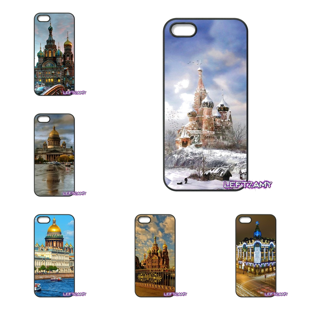 st petersburg Russia City Hard Phone Case Cover For iPhone 4 4S 5 5C SE 6 6S 7 8 Plus X 4.7 5.5 iPod Touch 4 5 6