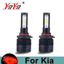 H4 H7 светодио дный фар автомобиля Добролюбов чипсы 12 В 72 Вт 12000LM HB3 HB4 ближнего света светодио дный авто лампы для Kia Magentis/Optima/Soul/Рондо/Седона/Rio5