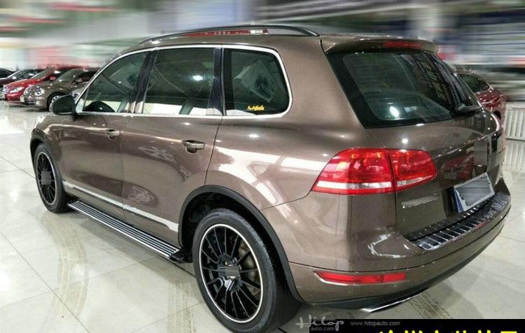 Image 5 - مباراة ل VW طوارق 2003 2018 الجانب بار الجانب خطوة تشغيل المجلس ، جودة ISO9001 ، رشاقته تصميم ، يمكن الوقوف 5 أشخاص الوزنmatchesmatch match  -