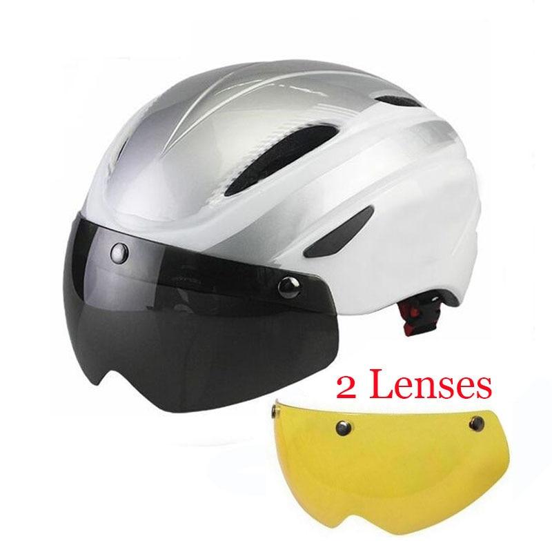 2017 New Bicycle Helmet with Windproof Lens Helmet Size ...